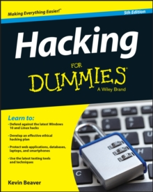 Hacking For Dummies, Paperback Book