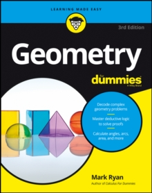 Geometry For Dummies, Paperback Book