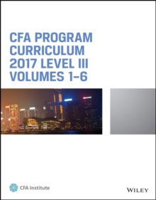 Image of CFA Program Curriculum 2017 Level III, Volumes 1 - 6