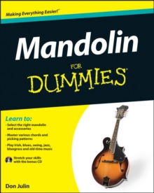 Mandolin For Dummies, Paperback