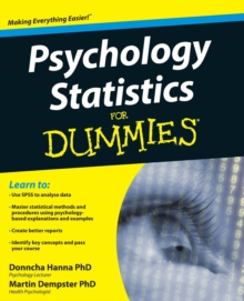 Psychology Statistics For Dummies, Paperback