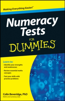Numeracy Tests For Dummies, Paperback Book
