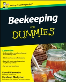 Beekeeping for Dummies UK Edition, Paperback Book
