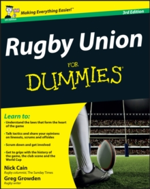 Rugby Union For Dummies, Paperback