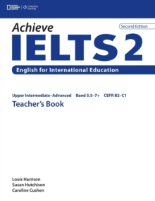 Achieve IELTS 2 : Upper Intermediate - Advanced Teacher's Book, Paperback