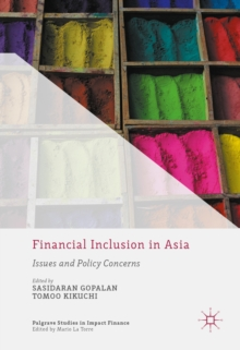 Image of Financial Inclusion in Asia : Issues and Policy Concerns