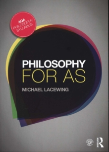 Philosophy for AS : Epistemology and Philosophy of Religion, Paperback Book
