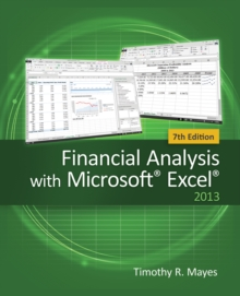 Financial Analysis with Microsoft Excel, Paperback Book