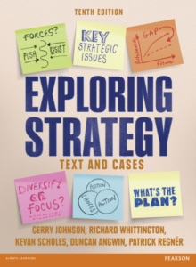Exploring Strategy Text & Cases, Paperback