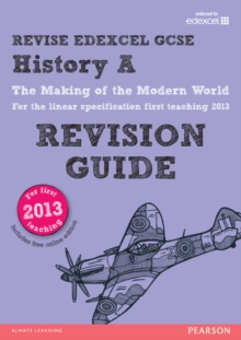 REVISE Edexcel GCSE History A: The Making of the Modern World Revision Guide, Mixed media product Book