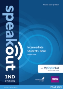 Speakout Intermediate  Students' Book with DVD-ROM and MyEnglishLab Access Code Pack, Mixed media product