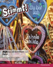 Stimmt! AQA GCSE German Higher Student Book : Higher, Paperback Book