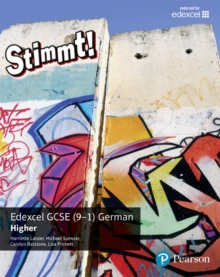 Stimmt! Edexcel GCSE German Higher Student Book : Higher, Paperback