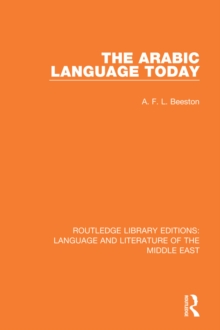 Image of The Arabic Language Today