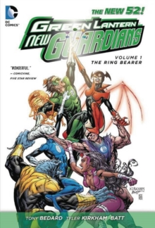 Green Lantern New Guardians : Ring Bearer Vol. 1, Hardback