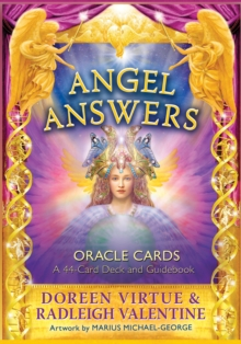 Angel Answers Oracle Cards : A 44-Card Deck and Guidebook, Cards