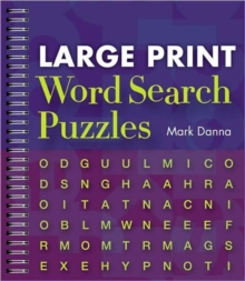Large Print Word Search Puzzles, Paperback