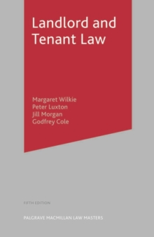 Landlord and Tenant Law, Paperback