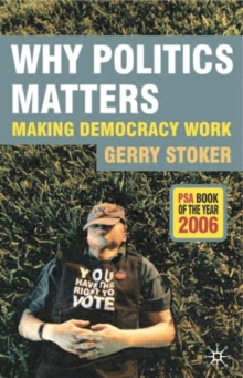 Why Politics Matters : Making Democracy Work, Paperback