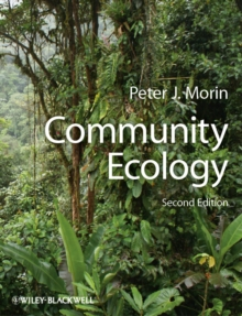 Community Ecology, Paperback Book