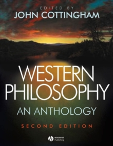 Western Philosophy : An Anthology, Paperback