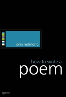 How to Write a Poem, Paperback Book