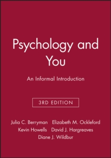 Psychology and You : An Informal Introduction, Paperback