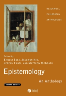 Epistemology : An Anthology, Paperback