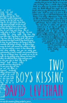 Two Boys Kissing, Paperback Book