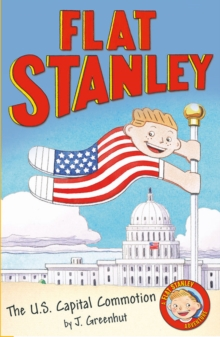 Jeff Brown's Flat Stanley: The US Capital Commotion, Paperback Book