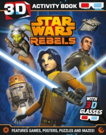 Star Wars Rebels 3D Activity Book, Paperback