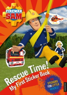 Fireman Sam Rescue Time! My First Sticker Book, Paperback Book
