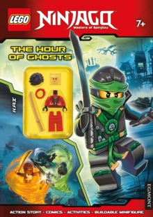 LEGO Ninjago the Hour of Ghosts : Activity Book with Minifigure, Paperback