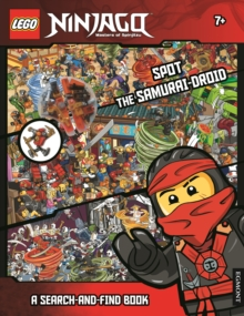 LEGO Ninjago: Spot the Samurai-Droid (A Search-and-Find Book), Paperback