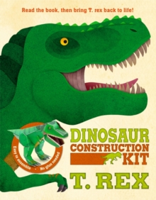 Dinosaur Construction Kit T. Rex, Novelty book