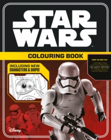 Star Wars the Force Awakens Colouring Book, Paperback