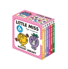 Little Miss Pocket Library, Board book