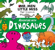 Mr. Men Adventure with Dinosaurs, Paperback Book