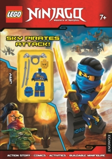 LEGO Ninjago Sky Pirates Attack! (Activity Book with Minifigure), Paperback