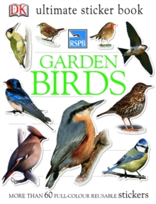 RSPB Garden Birds Ultimate Sticker Book, Paperback