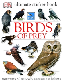 RSPB Birds of Prey Ultimate Sticker Book, Paperback Book