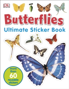 Butterflies Ultimate Sticker Book, Paperback Book