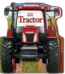 Tractor Shaped Board Book, Board book