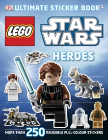 LEGO Star Wars Heroes Ultimate Sticker Book, Paperback