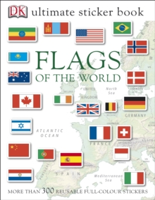 Flags of the World Ultimate Sticker Book, Paperback