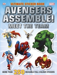 Marvel Avengers Assemble! Ultimate Sticker Book Meet the Team, Paperback