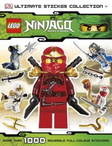 LEGO Ninjago Ultimate Sticker Collection, Paperback
