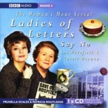 Ladies of Letters Say No, CD-Audio