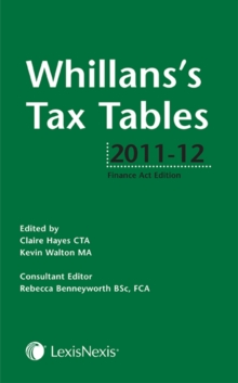 Whillans's Tax Tables, Paperback