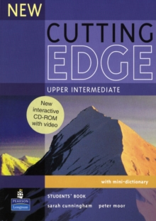 New Cutting Edge Upper Intermediate Students Book and CD-ROM Pack, Mixed media product Book